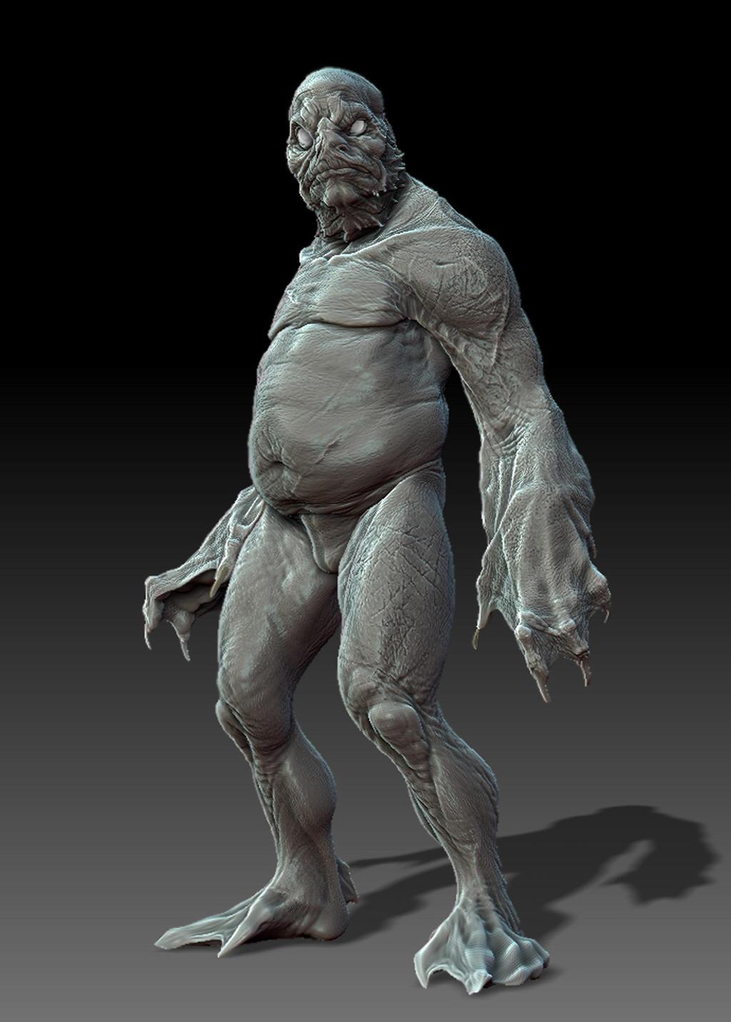 Innsmouth Brute, by DaveGrasso