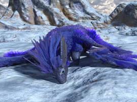 Ice Fae Dragon by chronos491