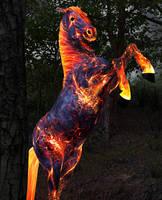 Fire Horse by chronos491