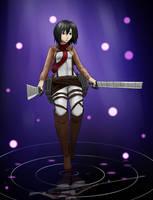 Art trade: Mikasa By Keem-Toon