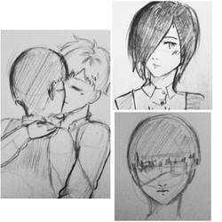 Tokyo Ghoul Sketches