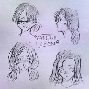 Anja the Anime girl 3