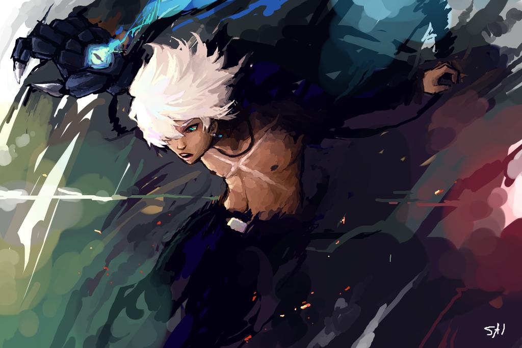 Exploding BLACK by SaiKayden