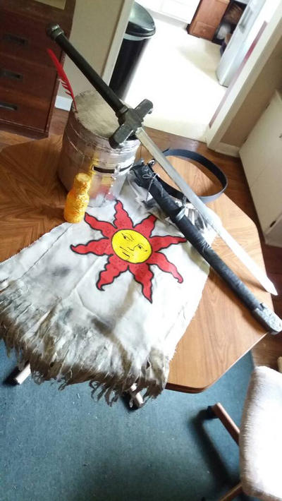 Solaire Cosplay by starynight9846