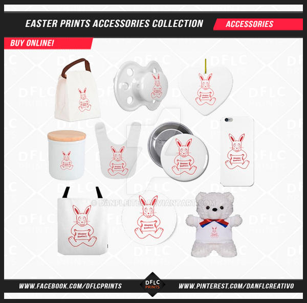 Easter Prints Accessories Collection by Dflcprints by danfleites
