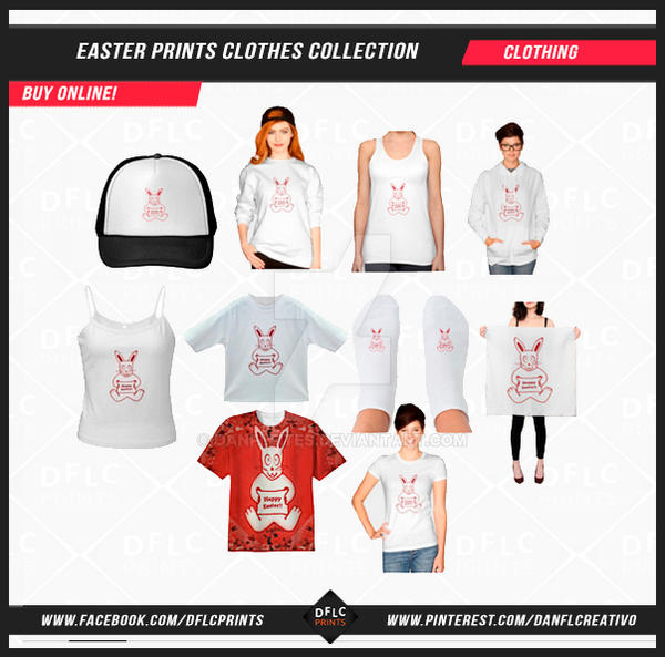 Easter Prints Clothes Collection by Dflcprints by danfleites
