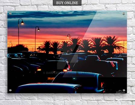 Punta del Este Sunset Poster