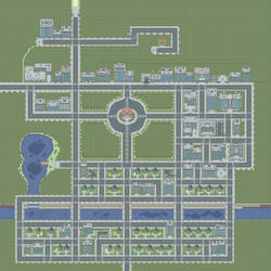 Viridian City by CaptainArcane