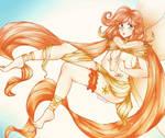 Eibhilin (Sun Fairy OC)