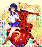 Miraculous Ladybug and Sailor Moon!