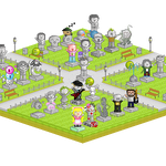 Pixel Park Project -END- by dutchie17
