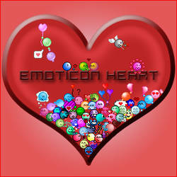 emoticon heart project END
