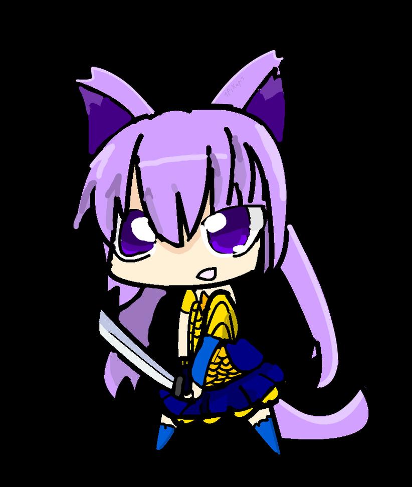 chibi neko girl by Hyakumi on DeviantArt  |Chibi Anime Neko Girl
