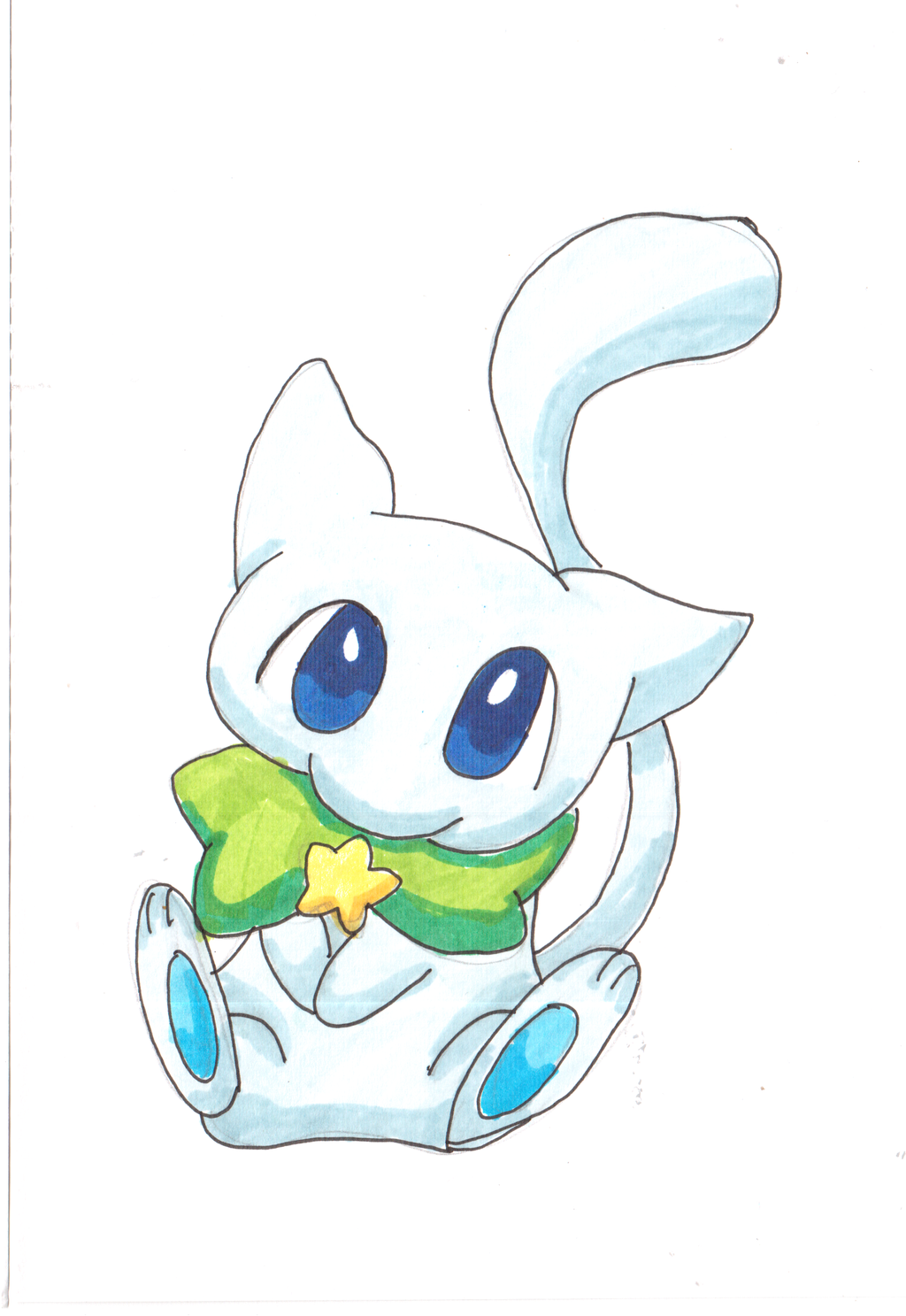 Shiny Mew by 1Pikapi1 on DeviantArt