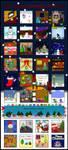 Emote advent calendar 2008 by Synfull