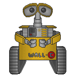 Pixel Wall-e by Synfull
