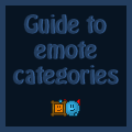 Syns guide to emote categories by Synfull