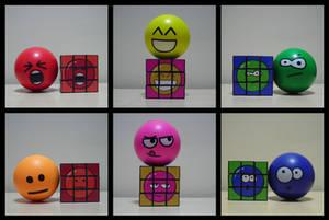 Custom Stressball Rubik's Cube by Synfull