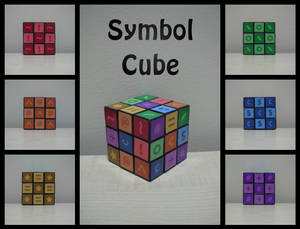 Symbol cube by Synfull