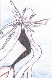 pink mermaid by blood100101