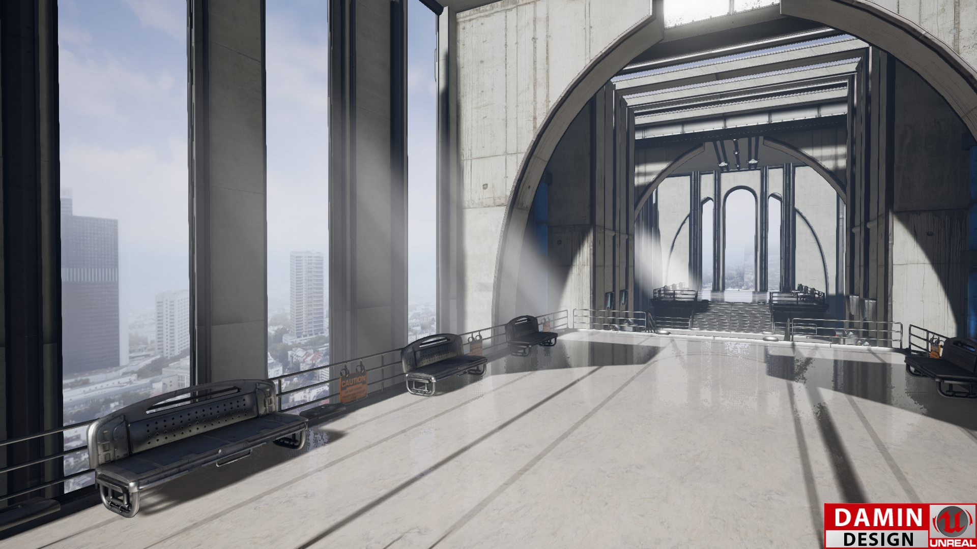 Unreal Engine 4 Platform by DaminDesign