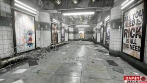 Unreal Engine 4 Small Subway