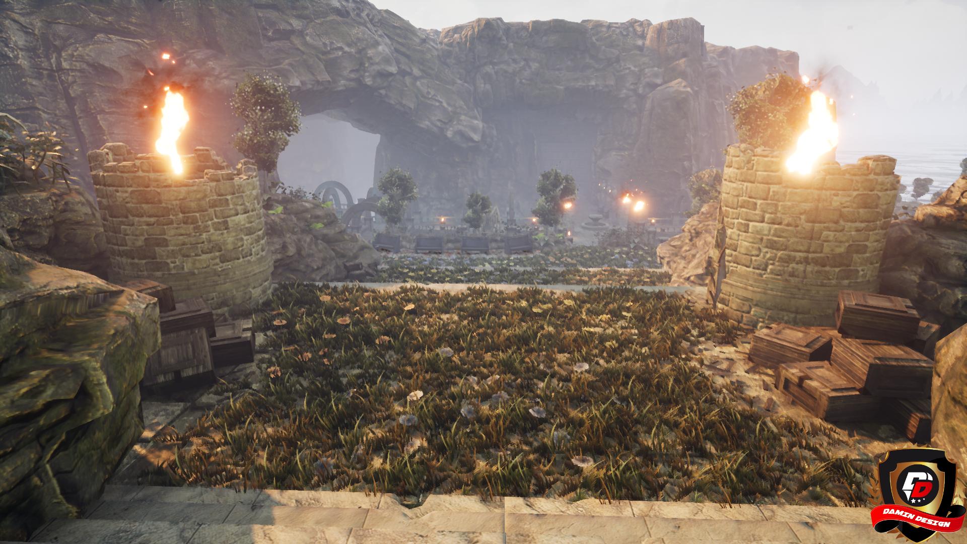Unreal Engine 4 Deserted Land by DaminDesign