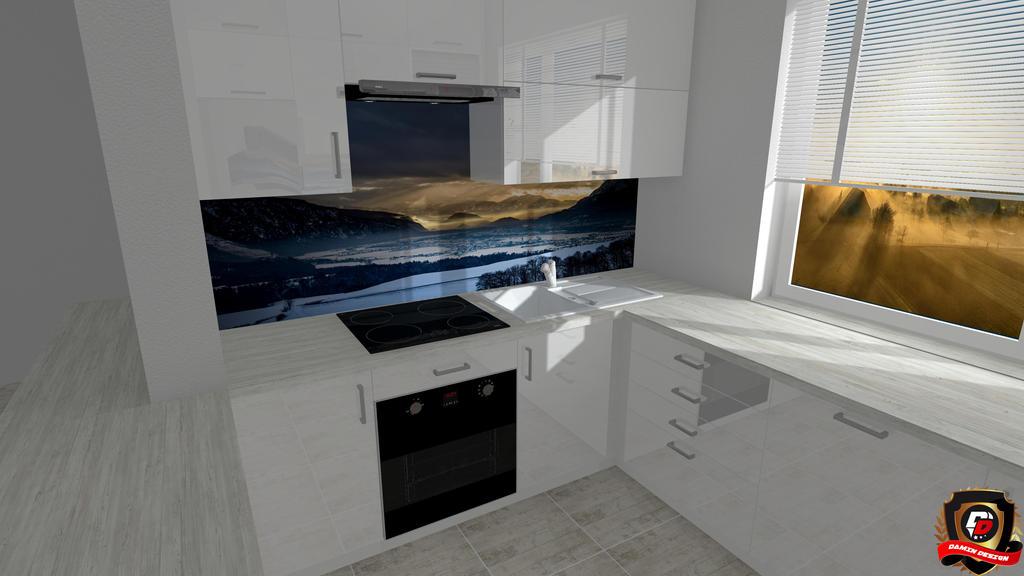 Modern Kitchen Version 4 by DaminDesign