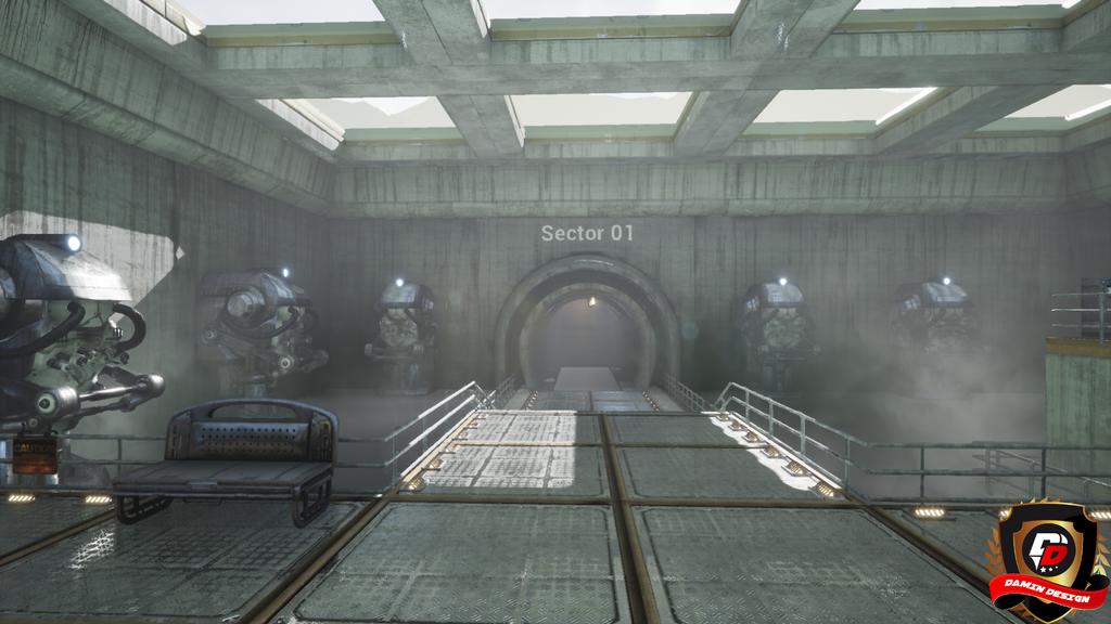 Unreal Engine 4 Secret Lab by DaminDesign