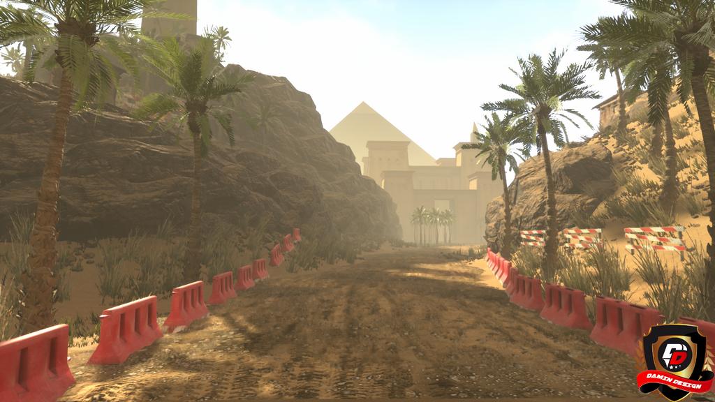 Unreal Engine 4 Old Desert by DaminDesign