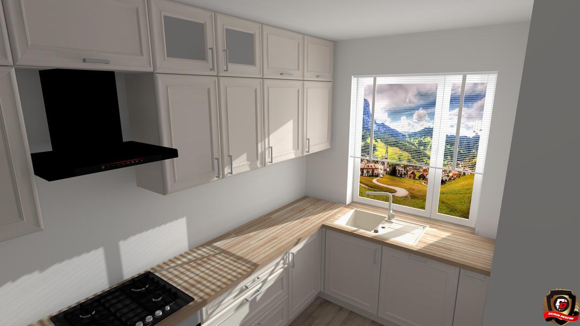Modern Kitchen Version 6 by DaminDesign