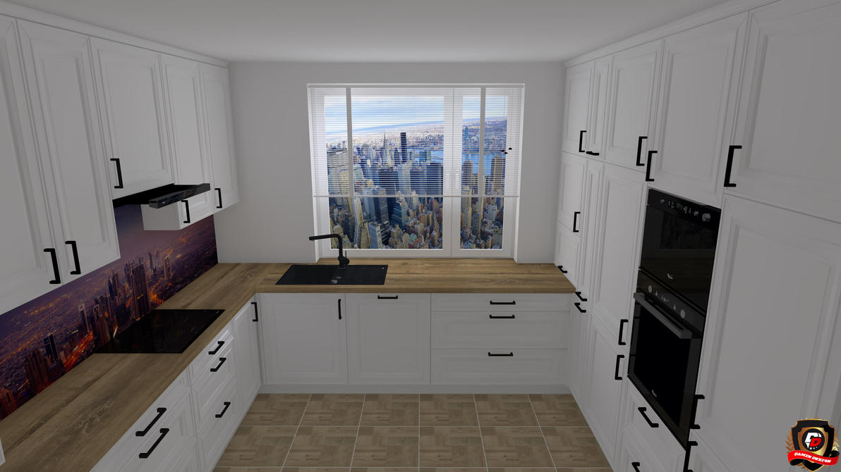 Modern Kitchen Version 7 by DaminDesign