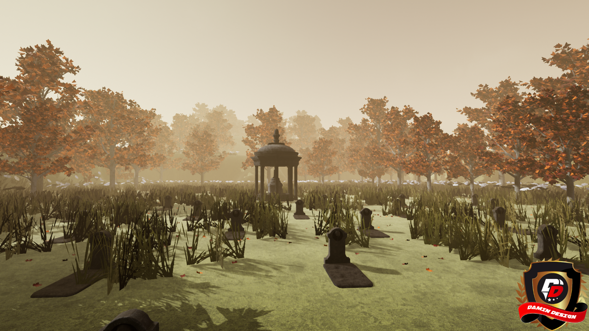 Unreal Engine 4 Ancient Cemetery by DaminDesign