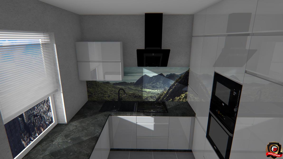 Modern Kitchen Version 8 by DaminDesign