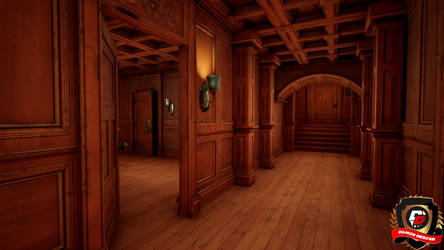 Unreal Engine 4 Abandoned Mansion by DaminDesign