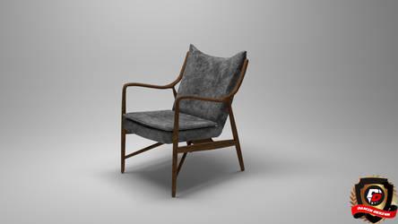 3ds Max Retro Chair