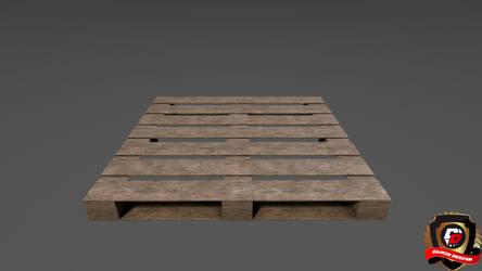 3ds max - Wooden Pallet