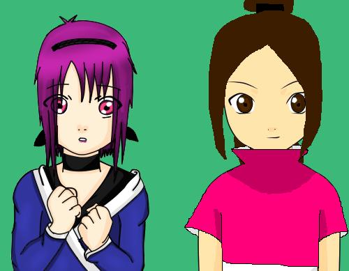 Kiara and Ayaka Collab by TDIgurl128