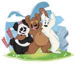 We'll be Bears ~