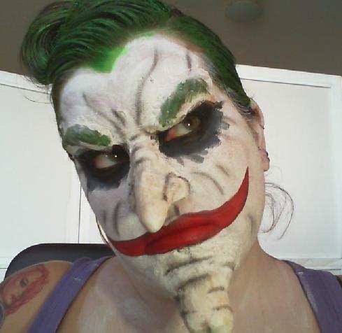 Joker Makeup Tutorial Arkham City By Creepysfx On Deviantart