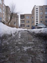 Urban Ice River
