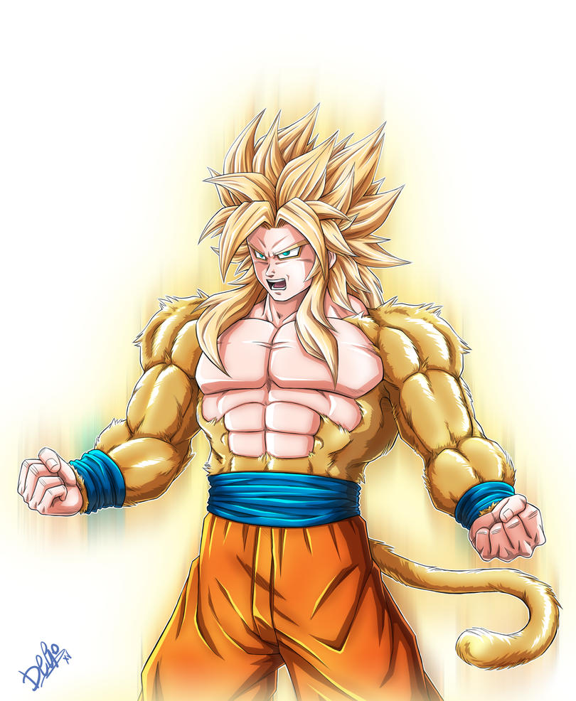 Goku Super Saiyan 5 by Wegons