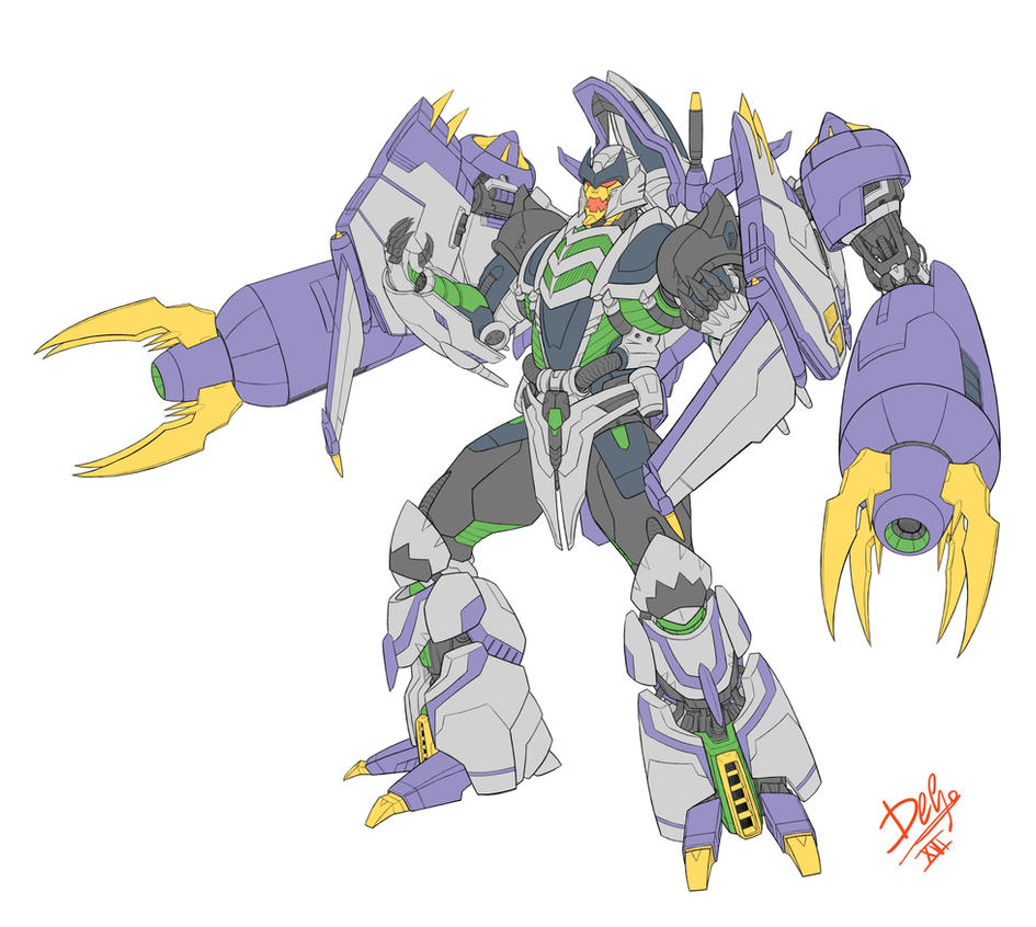 Thunderwing Sketch by Wegons