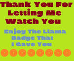 Thank You Watch by VKA3