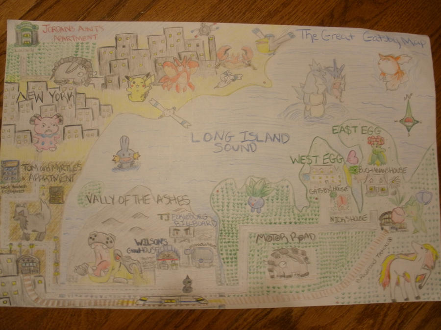 The Great Gatsby Map Pokemon by XChaXGirlX on DeviantArt