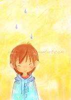 Smilimg Rain by oranjisama