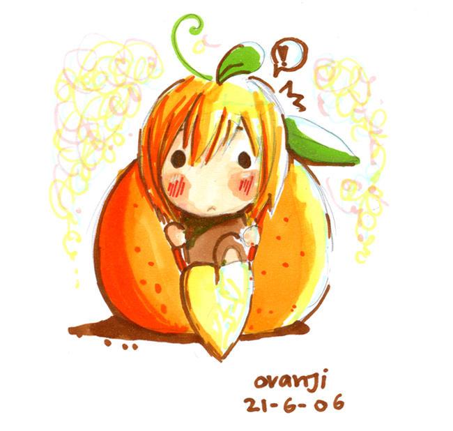 orange in orange by oranjisama