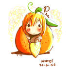 orange in orange