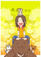 Go go into the jungle by oranjisama