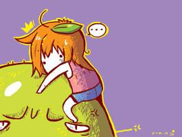 Climbing sth by oranjisama